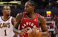 Кавай Ленард, видео, НБА, Торонто, Кливленд