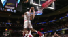 Larry Nance Jr. with one of the day's best dunks