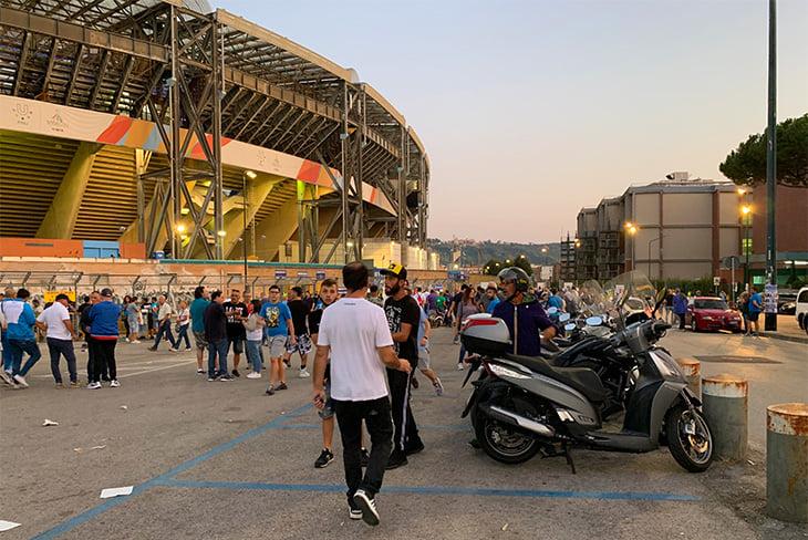 Гостям страшно в Неаполе - и футболистам, и болельщикам - ФК Ливерпуль