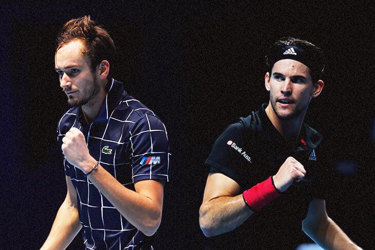 Медведев против Тима в финале итогового турнира ATP. Онлайн