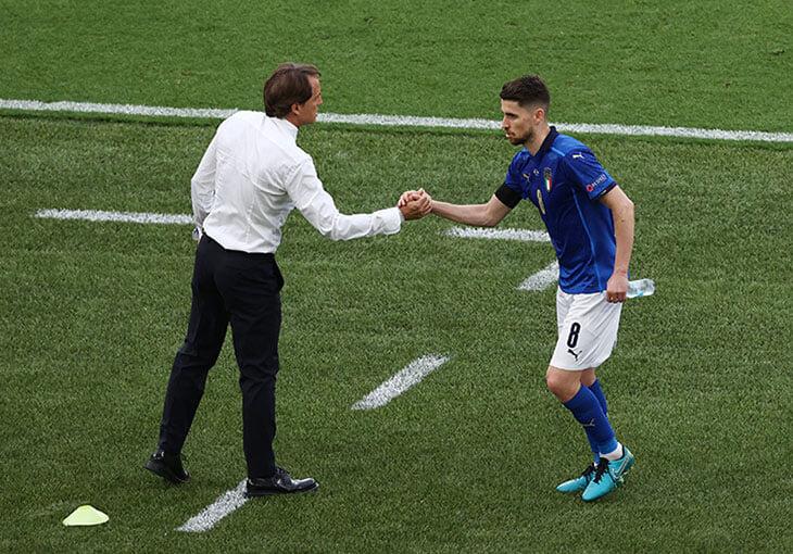 Жоржиньо – лучший игрок Италии на Евро. Стиль Манчини строится на его тонких решениях