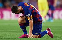 Барселона, Лионель Месси, Ла Лига, травмы