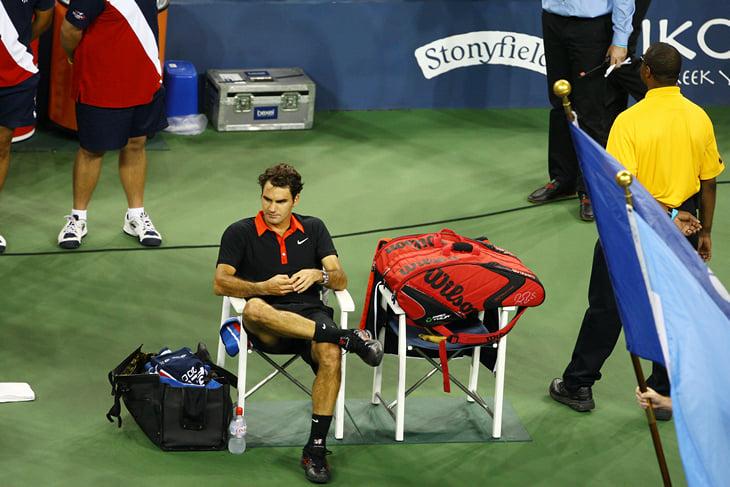 «Не надо мне пересказывать ###### правила». 10 лет психу Федерера на US Open