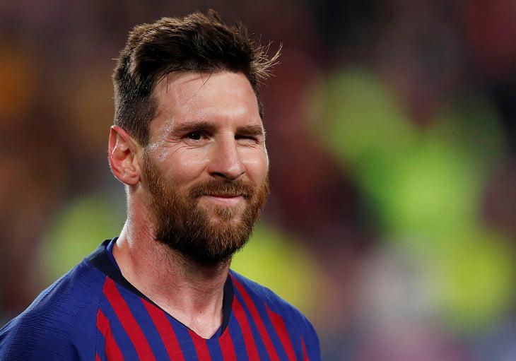 Барселона, Лионель Месси, Лига чемпионов УЕФА