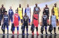 НБА, Nike, стиль, игровая форма
