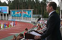 чемпионат мира по легкой атлетике, сборная России жен, чемпионат России, сборная России, Дмитрий Медведев