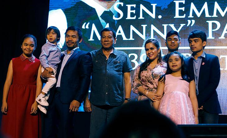 «Я рос в бедности и понимаю, что чувствуют люди». Мэнни Пакьяо – вероятно, следующий президент Филиппин