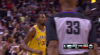 Kevin Durant nails it from behind the arc