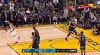 Stephen Curry sets up Klay Thompson nicely for the bucket