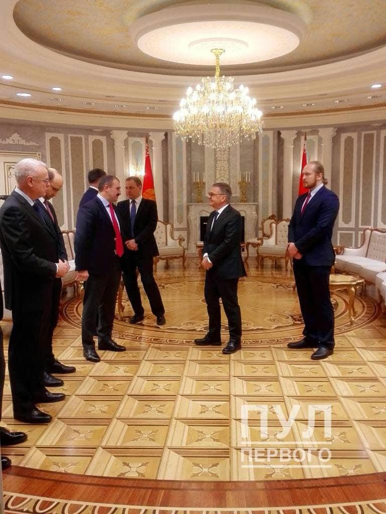 Фазель встречается с Лукашенко в Минске