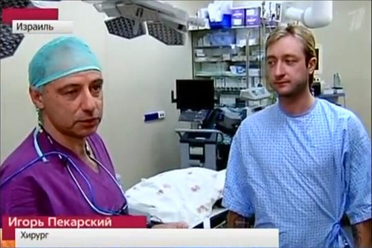 «Я считаю, никакой операции у Жени не было». Перед Сочи-2014 Плющенко пошел в суд против комментатора, который усомнился в его травме