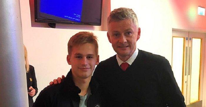 «Локомотив» мог подписать 14-летнего форварда Пиняева, который стажировался в «МЮ»