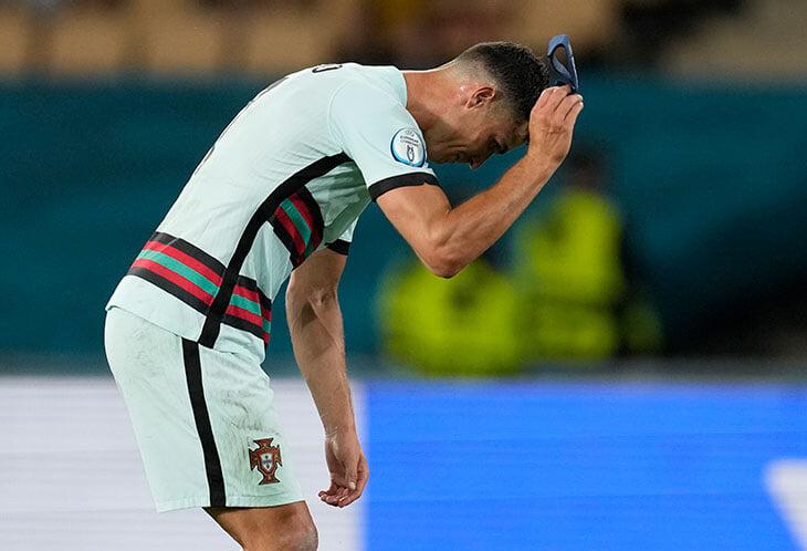 Криштиану не смог побить рекорд Али Даеи на Евро. После матча на него больно смотреть