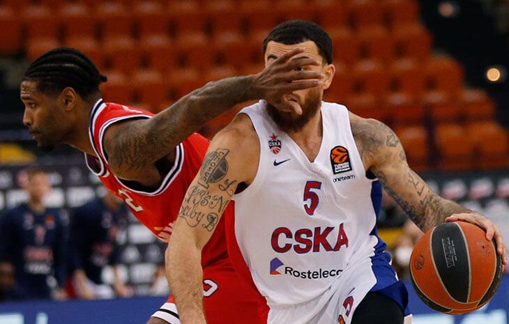 ЦСКА растерял «+25» в матче с «Олимпиакосом». И кое-как зацепил победу в конце