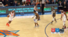 Mitchell Robinson throws down the alley-oop!