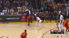 Anthony Davis Blocks in Los Angeles Lakers vs. Atlanta Hawks