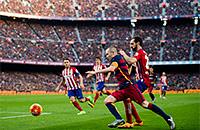 Барселона, Атлетико, примера Испания, болельщики, Камп Ноу