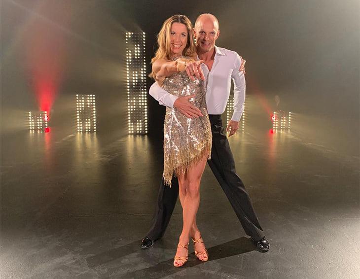 Магдалена Форсберг теперь в танцах: каблуки, макияж, идеальное тело в 51 год