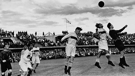 Каким был спорт во время Второй мировой войны