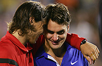 Ролан Гаррос, Уимблдон, видео, Рафаэль Надаль, Роджер Федерер, ATP, Internazionali BNL d'Italia, Australian Open, Miami Open