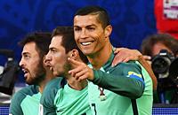 Криштиану Роналду, сборная Португалии, болельщики, Открытие Арена, Кубок конфедераций