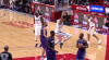 Montrezl Harrell shows off the vision for the slick assist