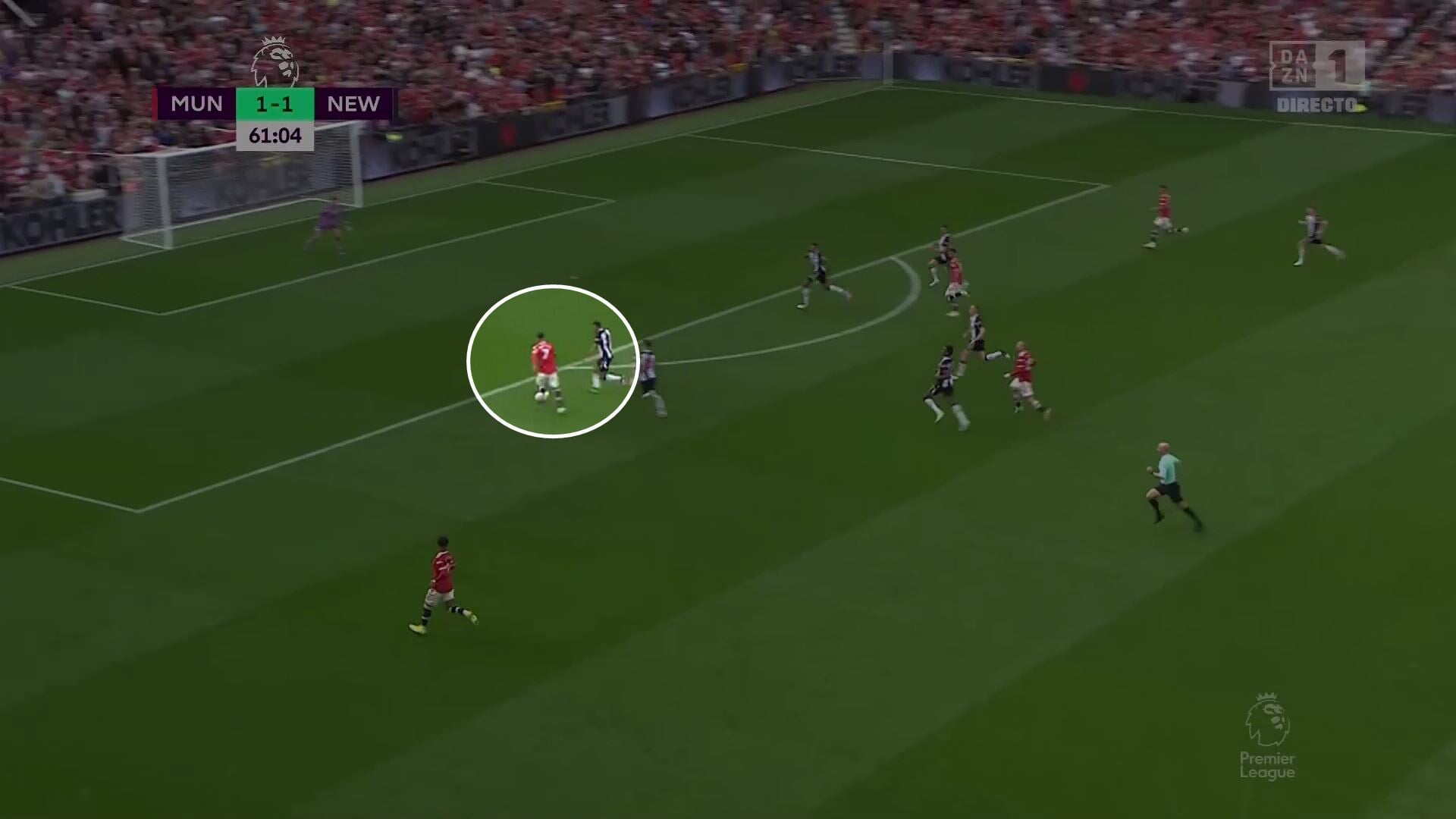 Роналду во втором дебюте за «МЮ»: играл свободного нападающего, выбил норму по ударам из штрафной, волшебно открывался