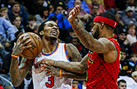 Атланта, Нью-Йорк, НБА, видео