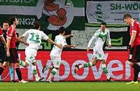 Командный гол «Вольфсбурга»