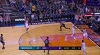 Karl-Anthony Towns with the big dunk