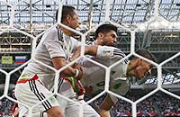 сборная Мексики, Кубок конфедераций, сборная Португалии, болельщики