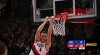 Pat Connaughton goes up to get it and finishes the oop