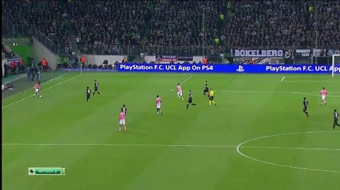 Боруссия менхенгладбах ювентус обзор матча