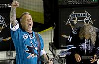 Metallica исполняет гимн перед финалом Кубка Стэнли