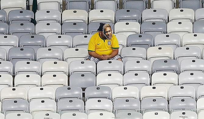 Сборная Бразилии по футболу, болельщики, ЧМ-2014