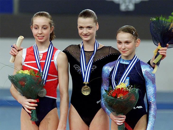 спортивная гимнастика, Светлана Хоркина, сборная Нидерландов жен, Верона ван де Лер