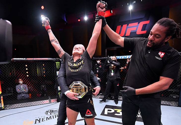 Бойцы MMA спорят, кто величайший в истории. У женщин такого вопроса нет – Аманда Нуньес