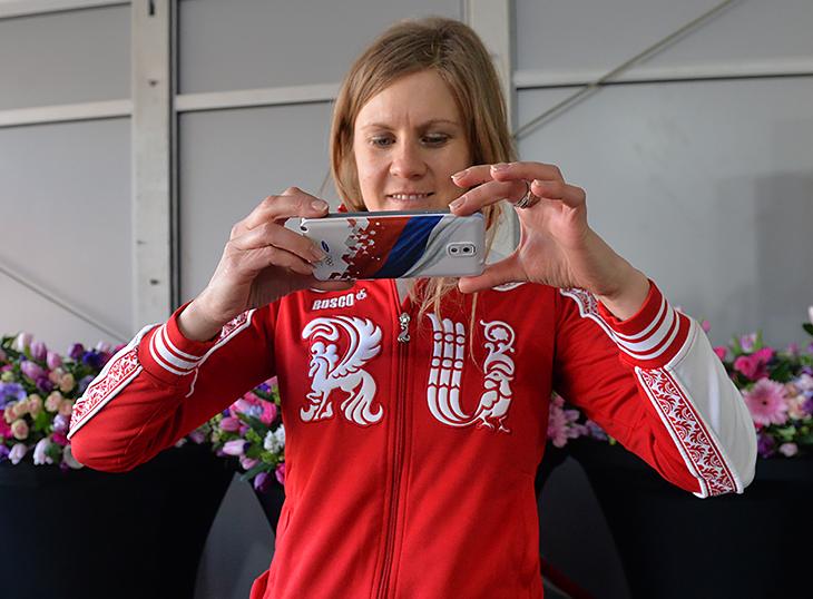 Яна Романова бежала в серебряной эстафете