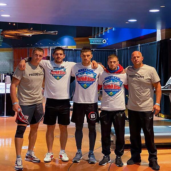Емельяненко создал команду из лучших учеников. Они шумят в Bellator (есть один чемпион), а Федор раскрывается как менеджер
