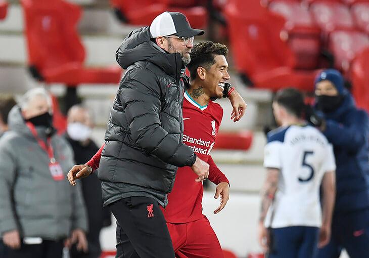 «Тоттенхэм» проиграл «Ливерпулю», но Жозе уверен: его команда была лучше. Все решил прыжок Фирмино на 90-й минуте