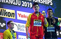 плавание, Чемпионат мира по водным видам спорта, допинг, сборная Китая, сборная Австралии, Сунь Ян, Мэк Хортон