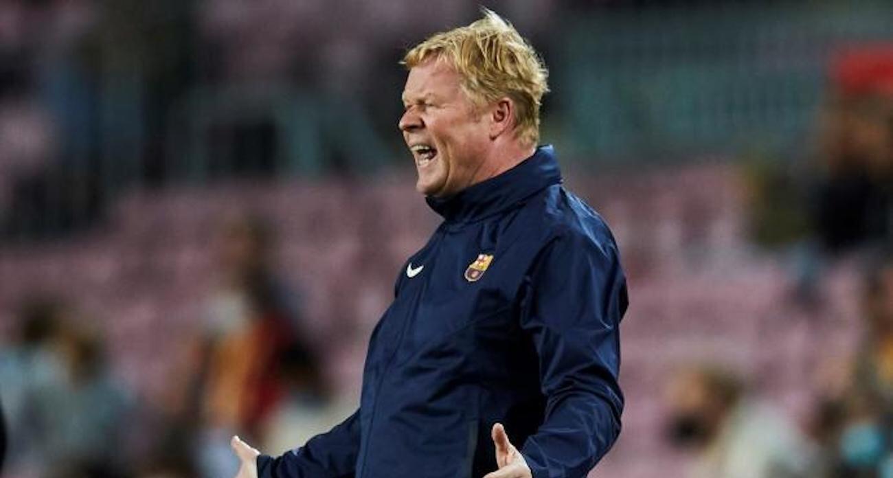 Куман не сможет руководить Барсой в матчах с Атлетико и Леванте  его дисквалифицировали за красную в игре с Кадисом