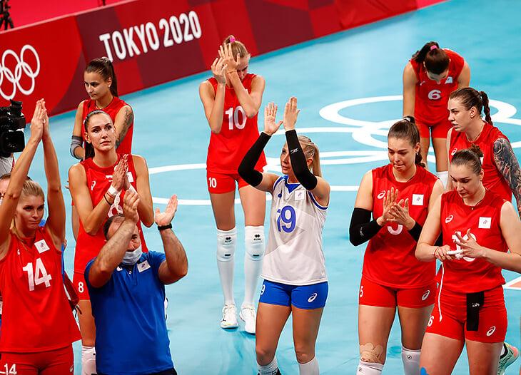 Наши волейболистки мучили Бразилию 1,5 сета