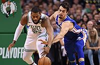 НБА плей-офф, НБА, Новый Орлеан, Торонто, Филадельфия