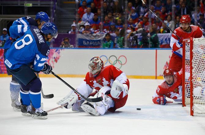 сборная Словении, Сборная России по хоккею, Сочи-2014, Сборная Швеции по хоккею, Сборная Финляндии по хоккею