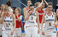 сборная Греции жен, сборная России жен, Евробаскет-2017 жен