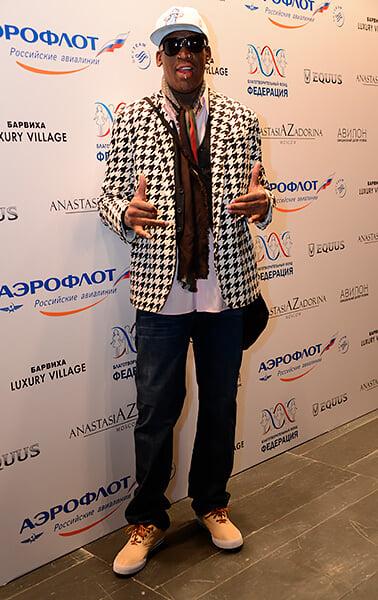 «Деннис никогда не выглядит пьяным, у него одно состояние». Я провел угарный вечер с Родманом в Москве