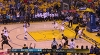 Andre Iguodala with the rejection vs. the Cavaliers
