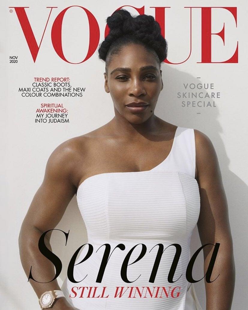 Британский Vogue за 2 месяца поставил на обложку Рэшфорда и Серену. Его редактор – офицер Британской империи и революционер