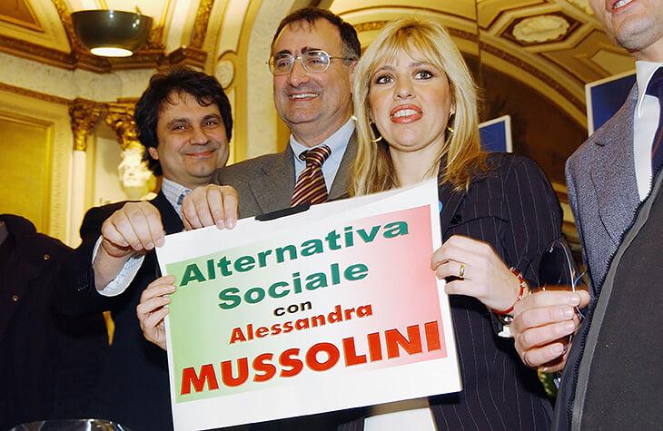 Правнук Муссолини поднялся в молодежку «Лацио». Его тетя – Софи Лорен, а мама называла всех румын преступниками